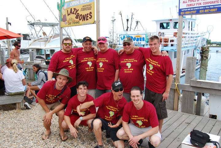 "9th Annual ""Monster"" Fishing Trip T-Shirt Photo"