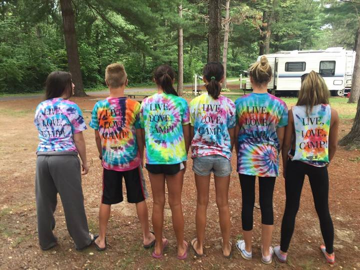 Live, Love, Camp T-Shirt Photo