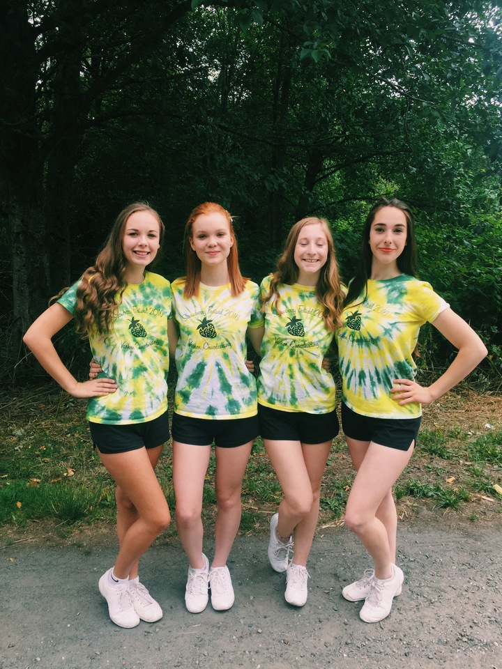 Vashon Cheer Strawberry Festival T-Shirt Photo