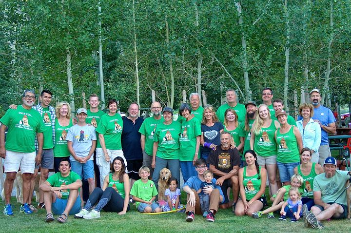 Convict Lake Family Reunion T-Shirt Photo