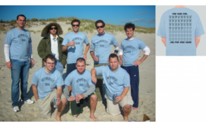 Men Were Men....And Men Were Drunk! T-Shirt Photo