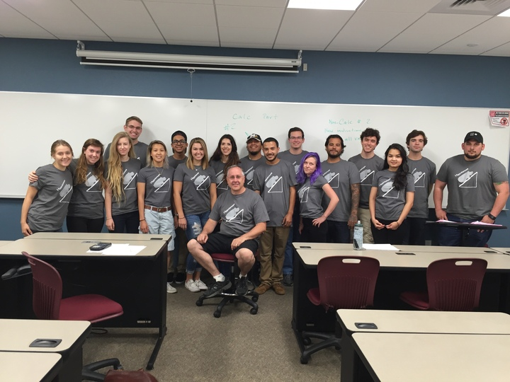 Math That Brought People Together T-Shirt Photo