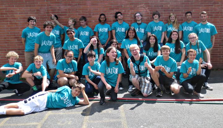 Seattle Jazz Ed Summer Jazz Ambassadors! T-Shirt Photo