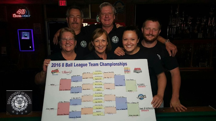 D.O.D. 8 Ball Champs T-Shirt Photo