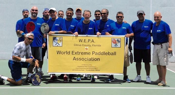 Ny Style Paddleball Players T-Shirt Photo