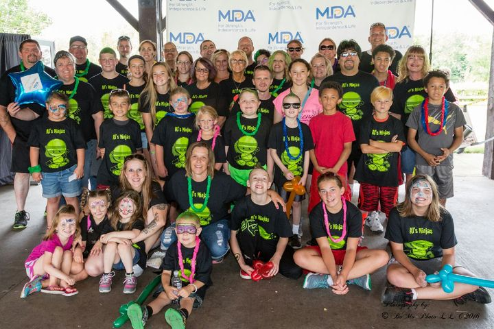Mda Muscle Walk 2016 T-Shirt Photo