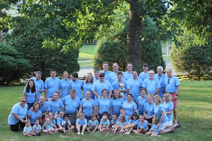Hall Family Reunion T-Shirt Photo