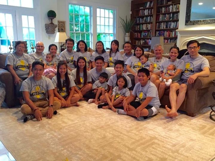 Vu Family Reunion 2016 T-Shirt Photo