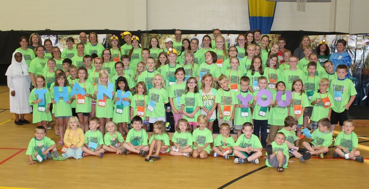 Vbs Kids Say Cheese T-Shirt Photo