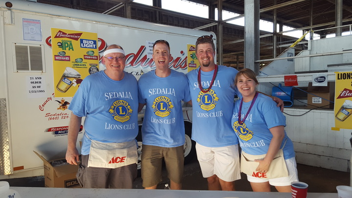 Sedalia Lions Club Backyard Bash T-Shirt Photo