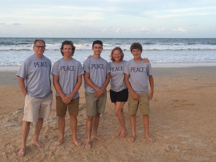 Peace Family Vacation 2016 T-Shirt Photo