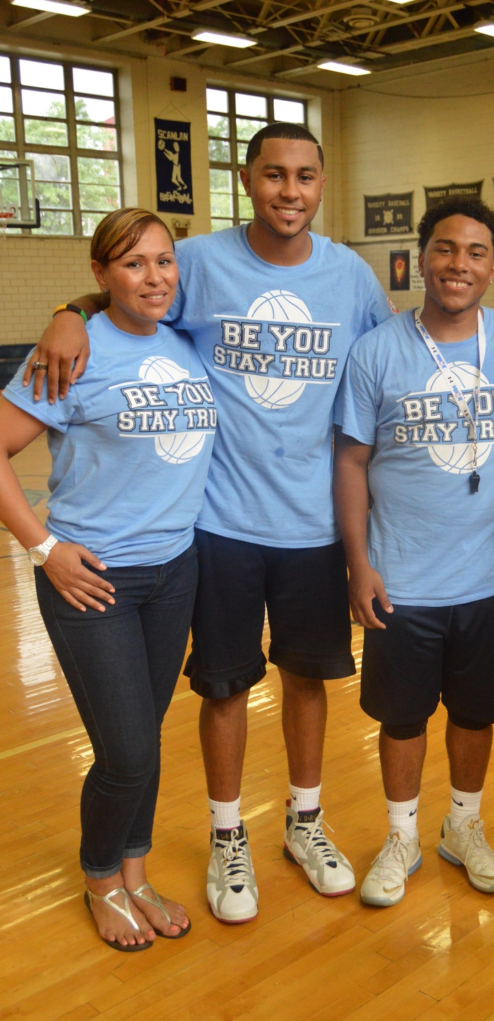 Be You Stay True Program 2nd Annual Basketball Camp T-Shirt Photo