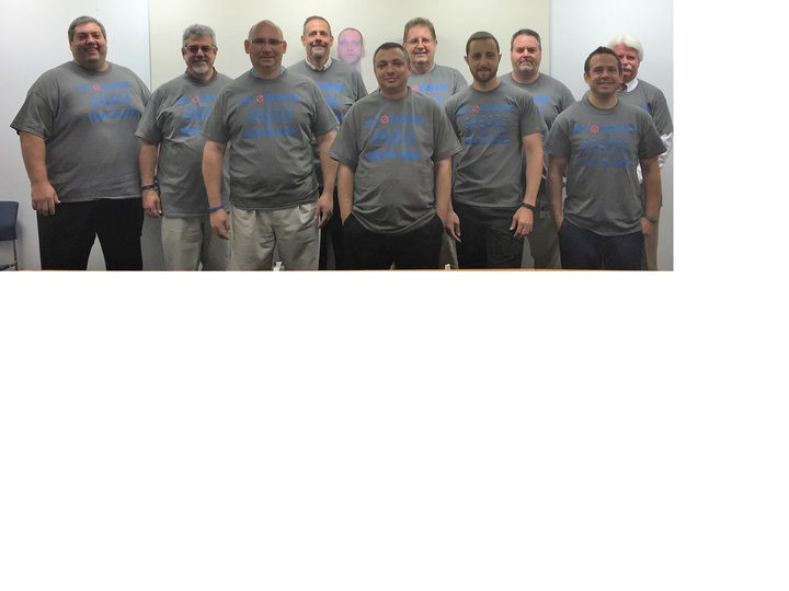 Coastbusters Walking Team T-Shirt Photo