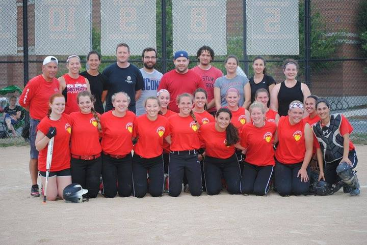 Varsity Softball Vs High School Teachers! T-Shirt Photo