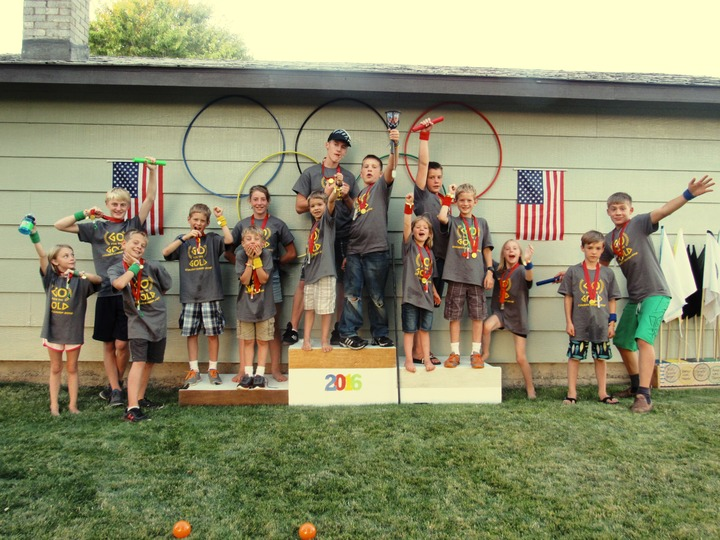 "Cousin Camp 2016 ""Wild Wacky Crazy Olympics"" T-Shirt Photo"