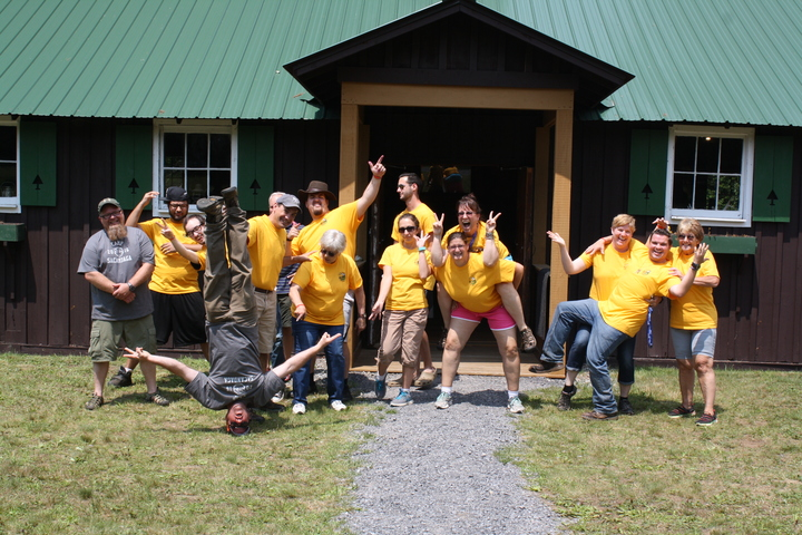 Camp Staff T-Shirt Photo