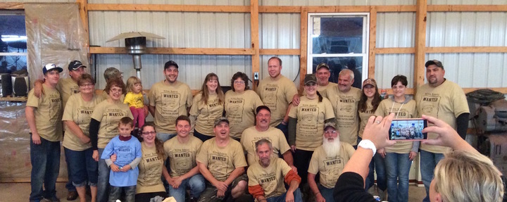 Curllsville Taterfest Crew T-Shirt Photo
