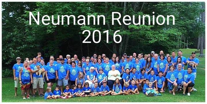 Neumann Reunion 2016 T-Shirt Photo