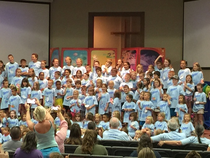 Submerged Vbs 2016 Closing Program T-Shirt Photo