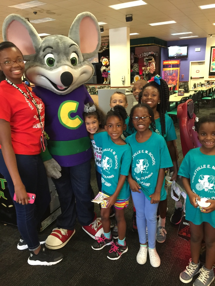 Violetville @ Chuck E Cheese T-Shirt Photo