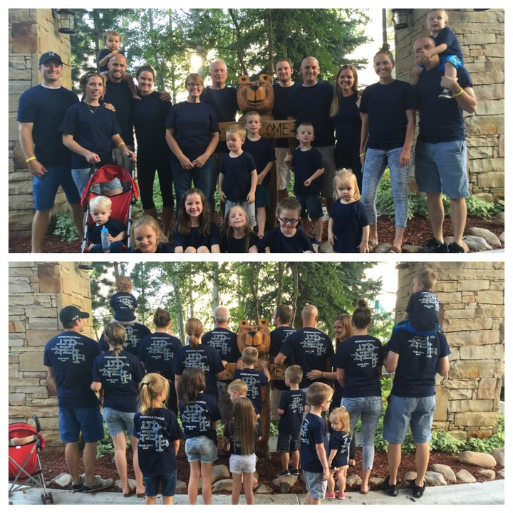 Winegar Family In Park City, Utah 2016 T-Shirt Photo