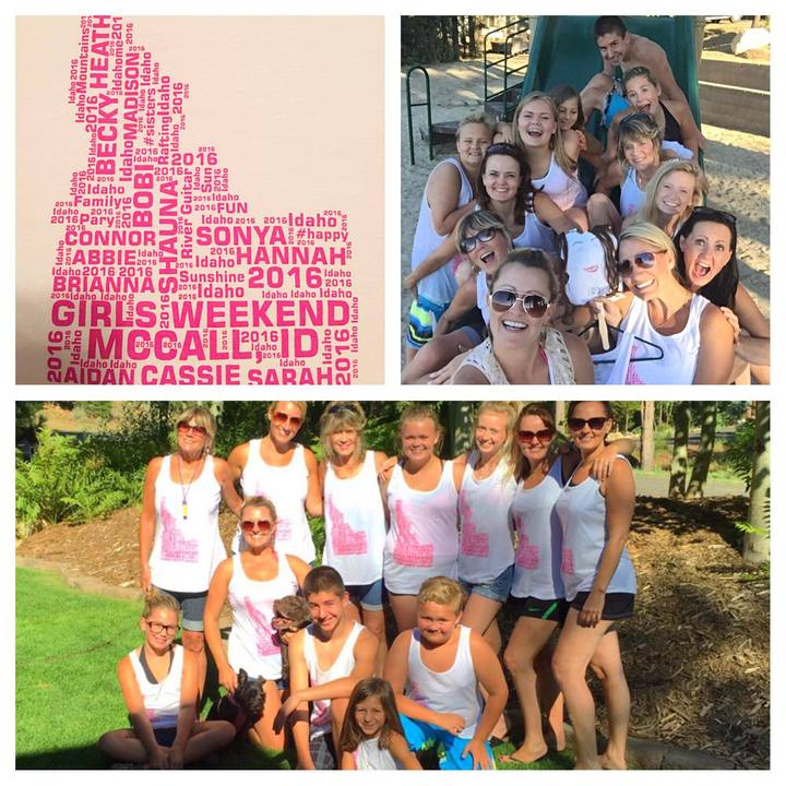 Girls Weekend Summer 2016 T-Shirt Photo