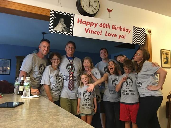Grandpa's 60th! T-Shirt Photo