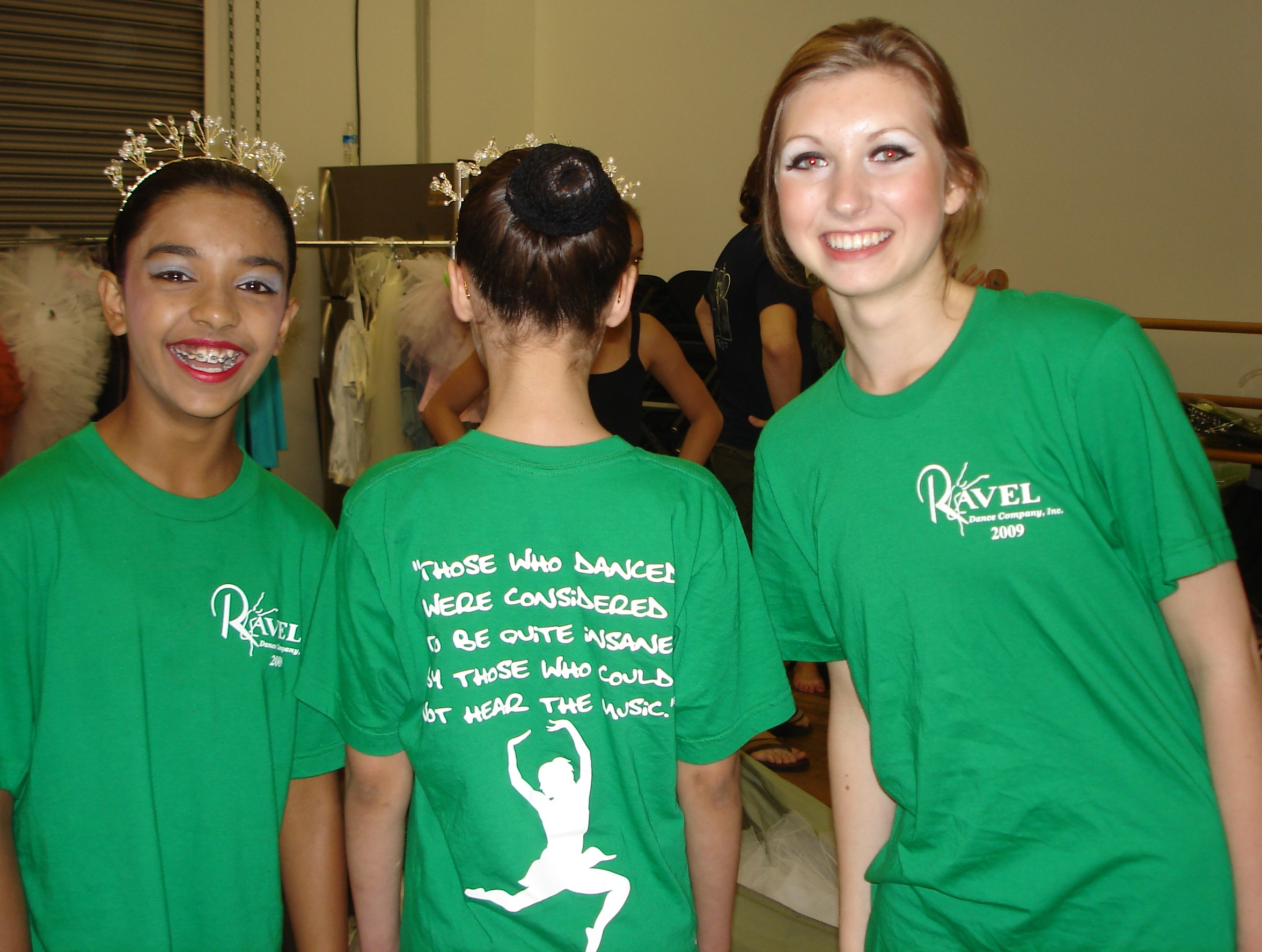 ravel dance company 2009 t shirt photo