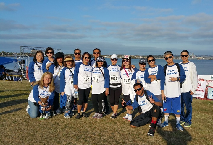 Team Walk For A Great Cause. T-Shirt Photo