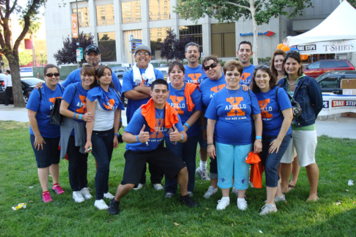 Team Apollo   The Crohn's/Colitis Walk T-Shirt Photo