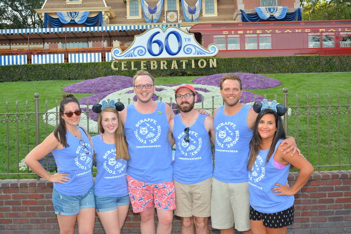 The Happiest Place On Earth T-Shirt Photo