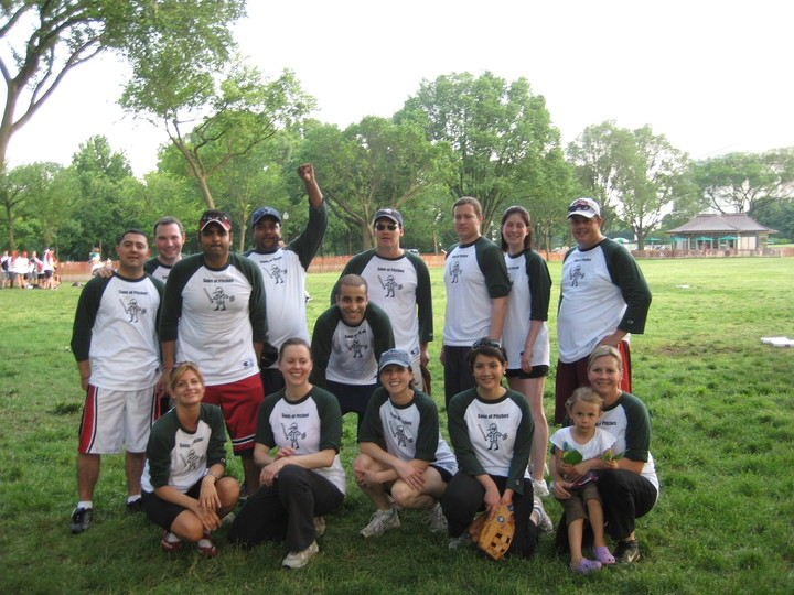 Sons Of Pitches Softball Team T-Shirt Photo