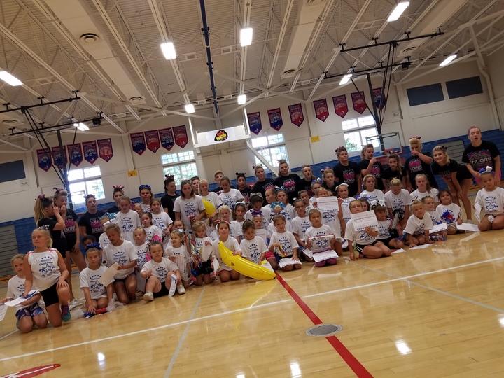 1st Annual Mohigan Cheer Camp T-Shirt Photo