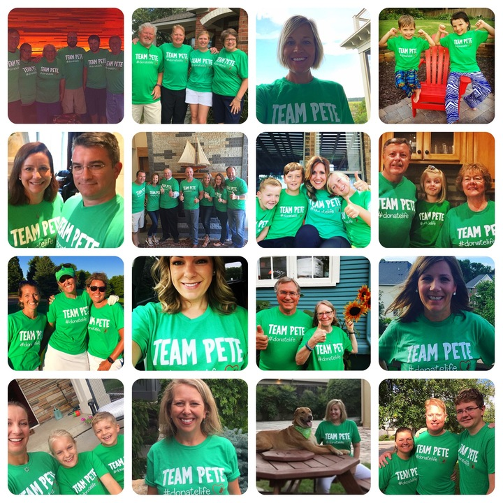 Team Pete   Donate Life! T-Shirt Photo