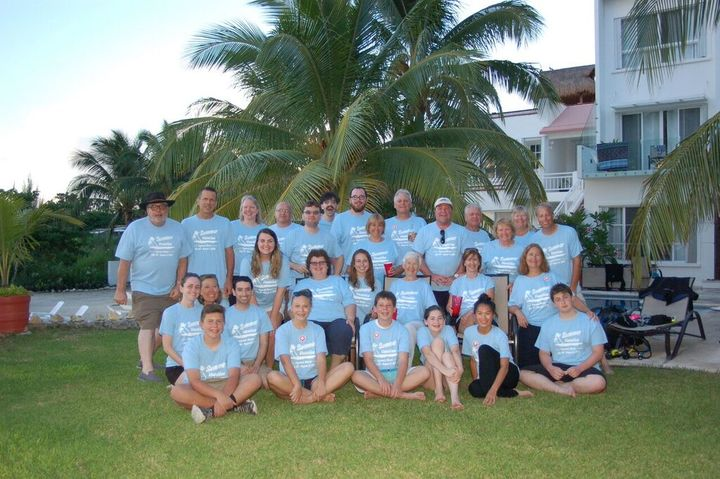 Summer Vacation In Mexico (Family Reunion) T-Shirt Photo