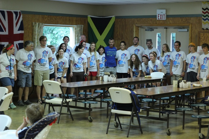 Celebrating Our Camp Director's Birthday! T-Shirt Photo