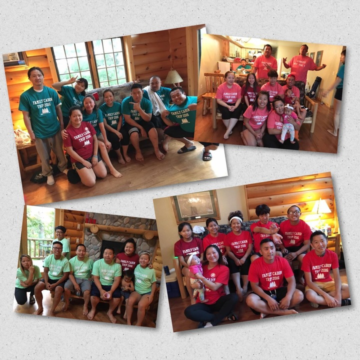 Family Cabin Trip 2016! T-Shirt Photo
