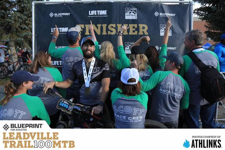Scott Race Crew At The Leadville 100 Mtb! T-Shirt Photo