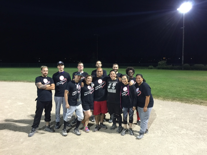 Inglorious Batters 2016 (Softball Team) T-Shirt Photo