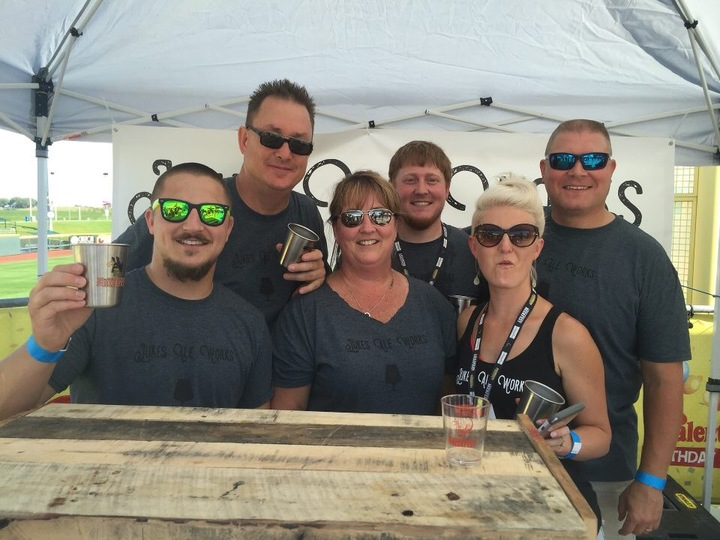 Jukes Ale Works At 2016 Great Nebraska Beer Fest T-Shirt Photo