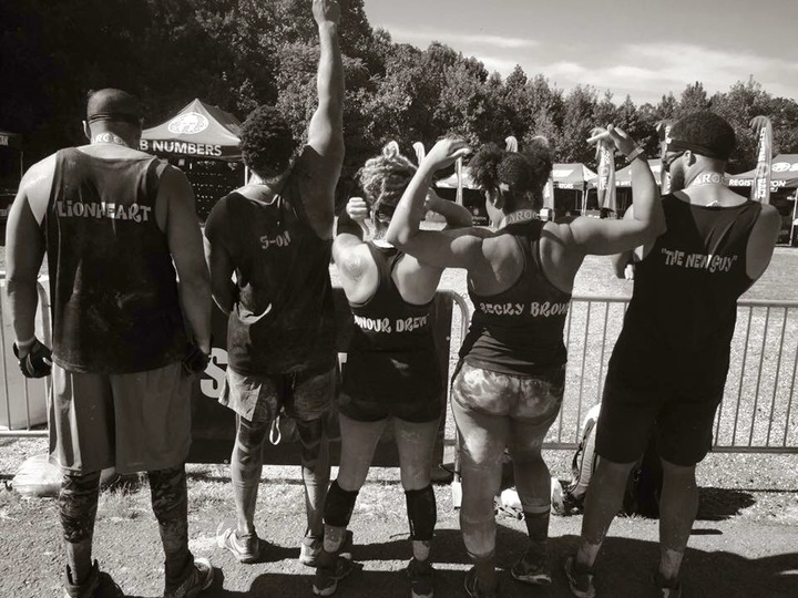 Team Purple Reign #Dafinishers #Spartansprint2016 T-Shirt Photo