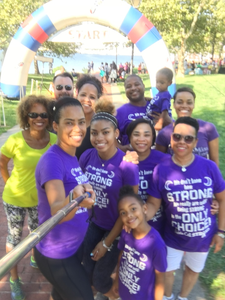 Ready To Walk/Run For Sickle Cell Disease! T-Shirt Photo