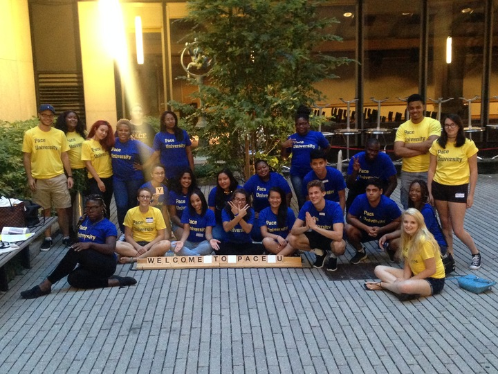 Pace University Nyc Summer Immersion Program 2016 T-Shirt Photo