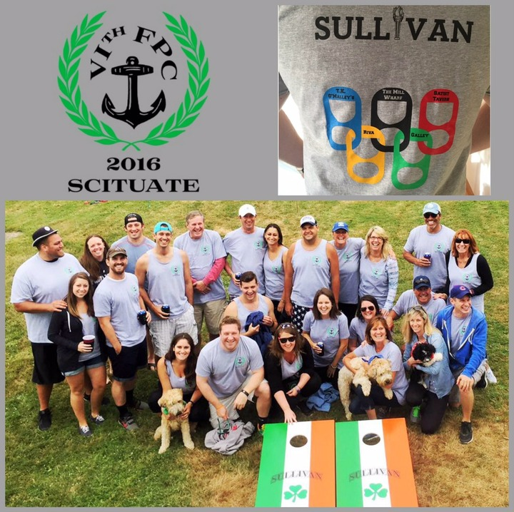 Sullivan Family Pub Crawl T-Shirt Photo