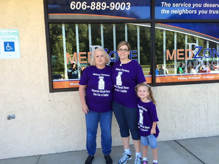 Fundraising For Alzheimer's T-Shirt Photo
