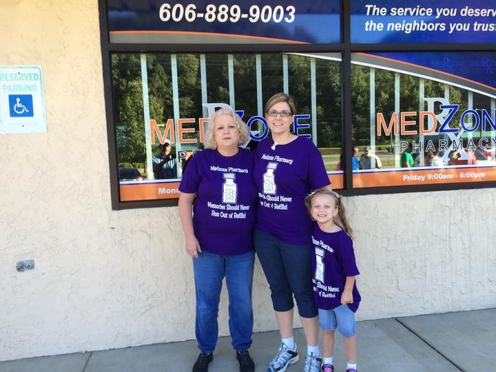 Fundraising For Alzheimer's T-Shirt Photo