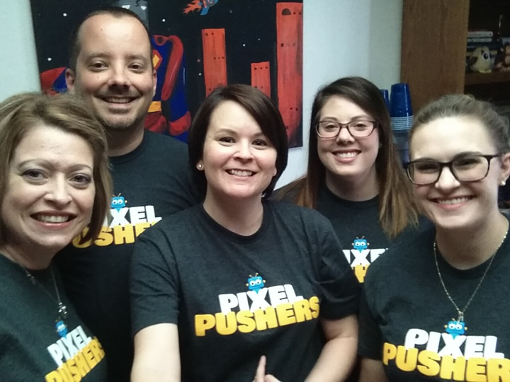 Pixel Pushers T-Shirt Photo