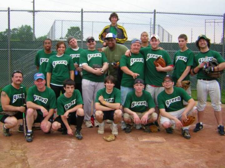 Green Machine Softball T-Shirt Photo