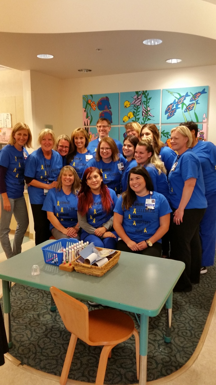 Mary Bridge Children's Oncology Crew T-Shirt Photo