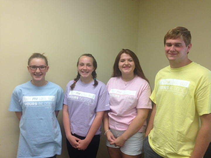 Crossroads Nazarene Teen Quizzers T-Shirt Photo